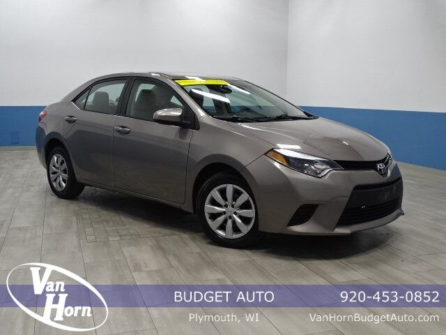 2014 Toyota Corolla L Plymouth WI