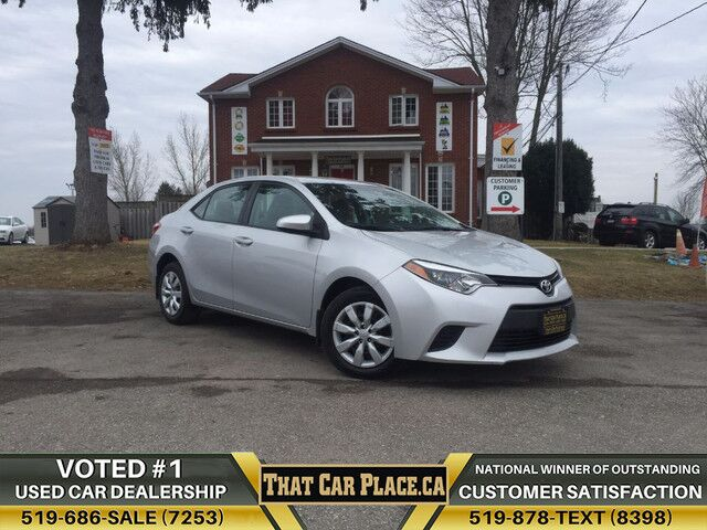 2014 Toyota Corolla LE-$55/Wk-RearCam-HtdSts-Bluetooth-AUX London ON