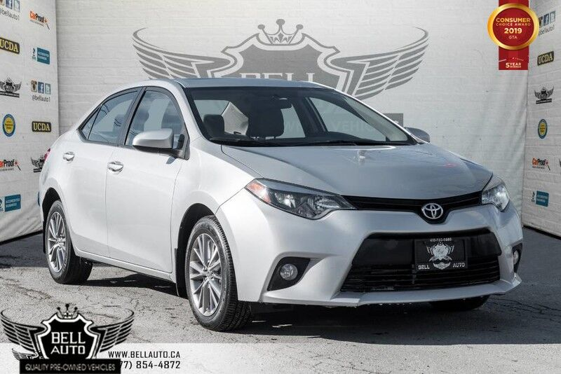 2014 Toyota Corolla LE, BACK-UP CAM, BLUETOOTH, HEATED SEATS, MOONROOF, VOICE COMMAND