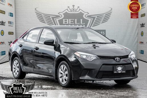 2014 Toyota Corolla LE, BACK-UP CAM, HEATED SEATS, BLUETOOTH, TOUCH SCREEN Toronto ON