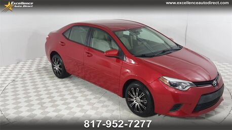 2014_Toyota_Corolla_LE CRUISE CONTROL,BUCKET SEATS,BCK-CAM,BLUETOOTH..._ Euless TX
