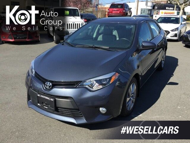 2014 Toyota Corolla LE ECO Upgrade Pkg One Owner! No Accidents, Low KM'S, Backup Camera! Kelowna BC