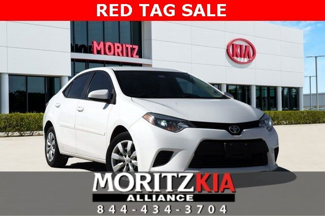 2014 Toyota Corolla LE Fort Worth TX