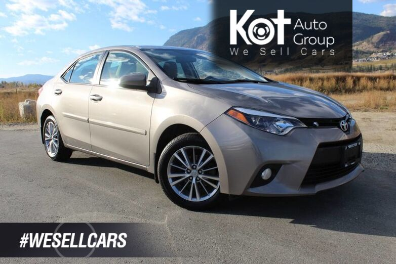 2014 Toyota Corolla LE, Great on Fuel, No Accidents, Sunroof Kelowna BC