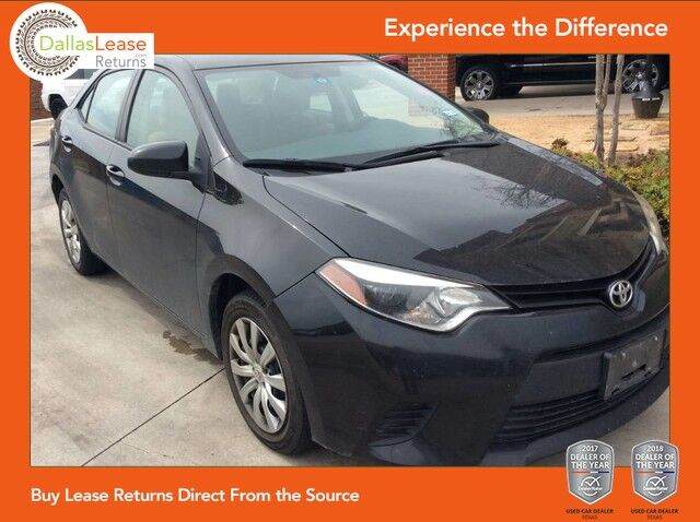 2014 Toyota Corolla LE Plus Dallas TX