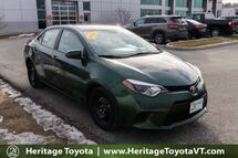 2014 Toyota Corolla LE South Burlington VT