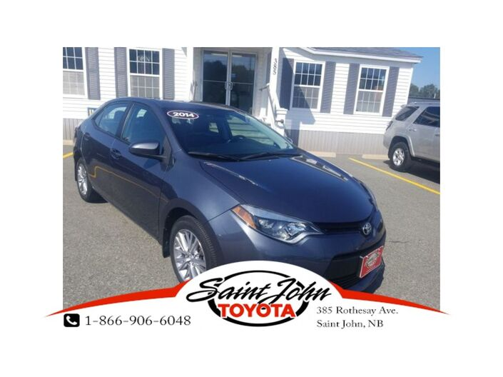 2014 Toyota Corolla LE with Leather+ Alloys $152.31 BIWEEKLY!!! Saint John NB