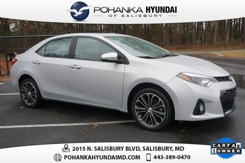 2014_Toyota_Corolla_S ONE OWNER, LOCAL TRADE_ Salisbury MD