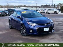 2014 Toyota Corolla S Plus South Burlington VT