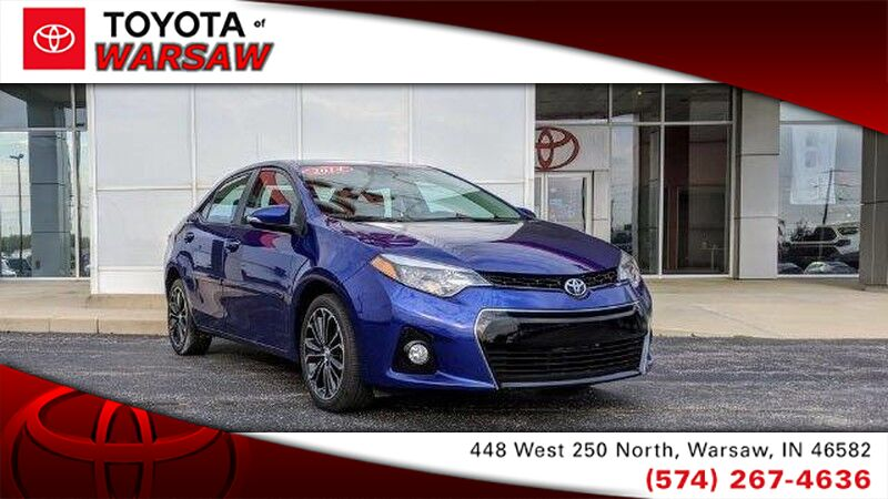 2014 Toyota Corolla S Plus Warsaw IN