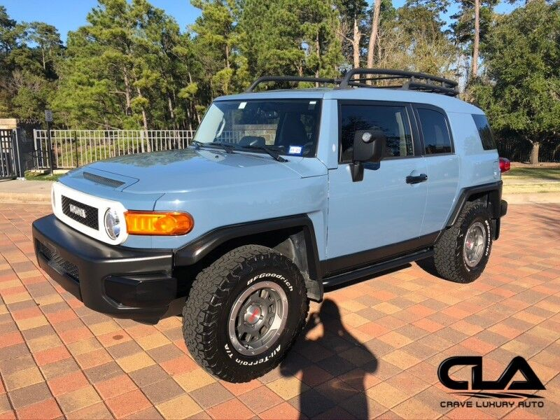 2014 Toyota FJ Cruiser Trail Teams Ultimate Edition The Woodlands TX