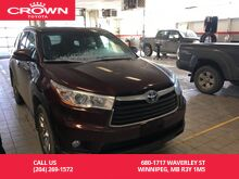 2014_Toyota_Highlander Hybrid_Limited 4WD / One Owner / Hybrid / Fully Loaded / Great Condition / Unbeatable Value_ Winnipeg MB