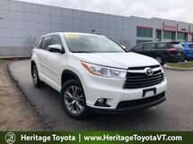 2014 Toyota Highlander LE Plus South Burlington VT