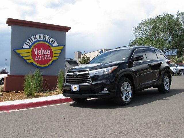 2014 Toyota Highlander Limited Durango CO