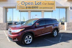 2014_Toyota_Highlander_Limited FWD V6_ Las Vegas NV