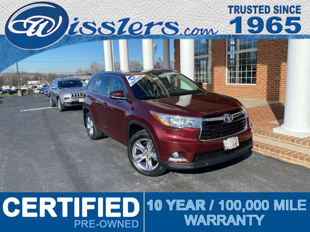 2014 Toyota Highlander Limited Mount Joy PA