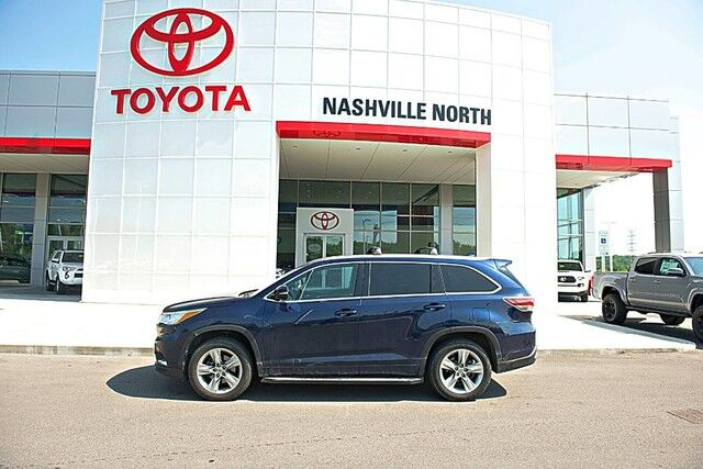 2014 Toyota Highlander Limited Nashville TN