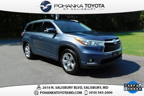 2014_Toyota_Highlander_Limited_ Salisbury MD