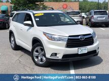 2014 Toyota Highlander Limited South Burlington VT