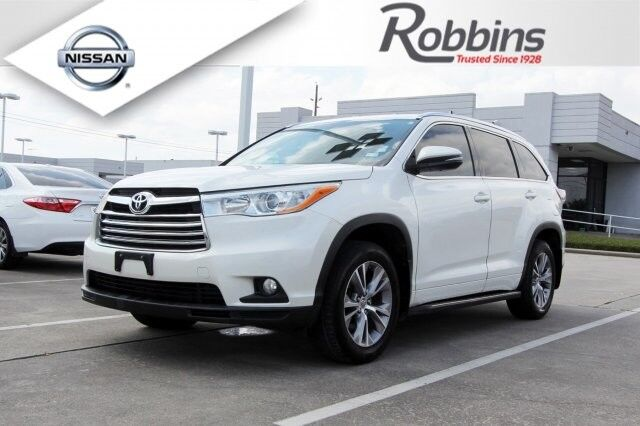 2014 Toyota Highlander XLE Houston TX