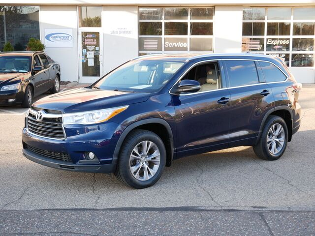 2014 Toyota Highlander XLE Inver Grove Heights MN
