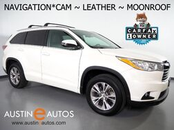 2014_Toyota_Highlander XLE_*NAVIGATION, BACKUP-CAMERA, 2ND ROW BUCKET SEATS, TOUCH SCREEN, MOONROOF, LEATHER, HEATED SEATS, BLUETOOTH PHONE & AUDIO_ Round Rock TX