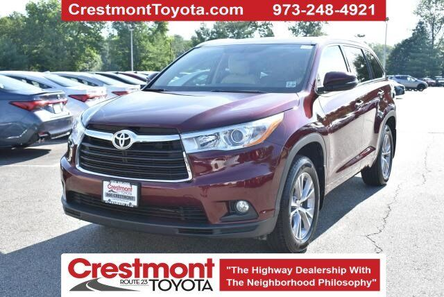 2014 Toyota Highlander XLE Pompton Plains NJ