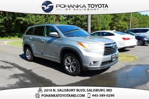 2014_Toyota_Highlander_XLE V6 3RD ROW PRICE REDUCED_ Salisbury MD