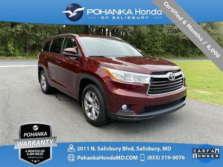 2014_Toyota_Highlander_XLE V6 AWD ** Certified 6 Months / 6,000  **_ Salisbury MD