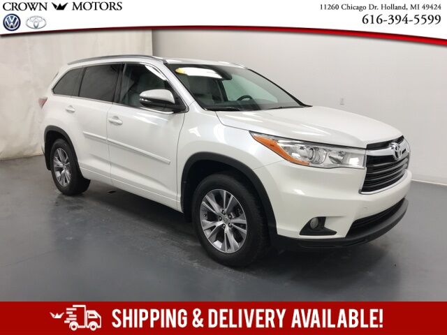 2014 Toyota Highlander XLE V6 Holland MI