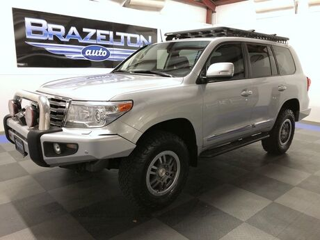 2014 Toyota Land Cruiser 2in OME Lift, ARB Bumpers, Winch, Slee Sliders, Rhino Rack, TRD Wheels Houston TX