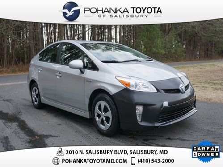 2014_Toyota_Prius_Four_ Salisbury MD