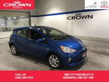 2014_Toyota_Prius c_HB Tech Pkg / Super Low Kms / Clean Carproof / One Owner / Local / Immaculate Condition_ Winnipeg MB