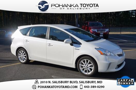2014_Toyota_Prius v_Five LEATHER_ Salisbury MD