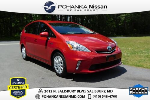2014_Toyota_Prius v_Three Pohanka Certified_ Salisbury MD