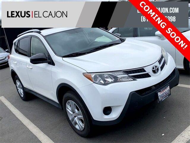 2014 Toyota RAV4 LE San Diego County CA