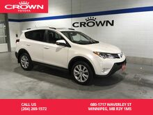 2014_Toyota_RAV4_Limited AWD Tech Pkg / Clean Carproof / One Owner / Lease Return / Local_ Winnipeg MB