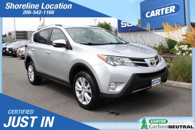 2014 Toyota RAV4 Limited Seattle WA