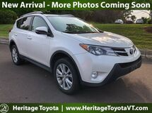 2014 Toyota RAV4 Limited South Burlington VT