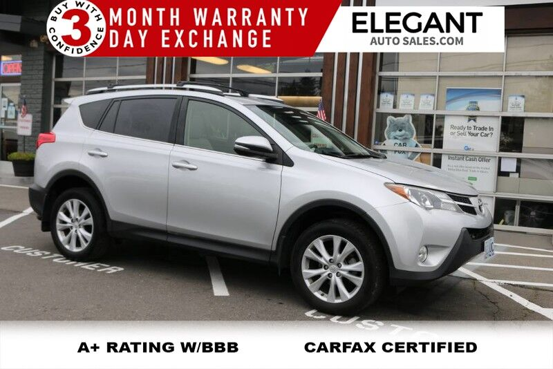 2014 Toyota RAV4 Limited awd 60k miles LEATHER LOADED