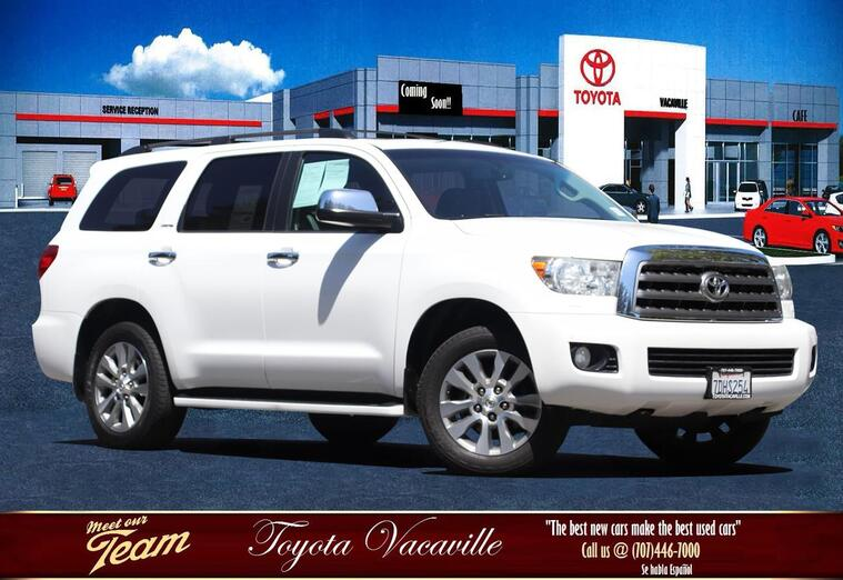 2014 Toyota SEQUOIA Limited Sport Utility Vacaville CA