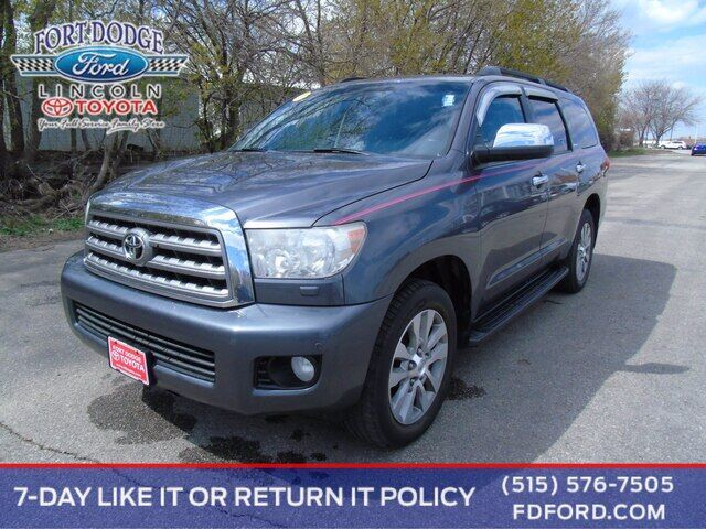 2014 Toyota Sequoia Limited Fort Dodge IA
