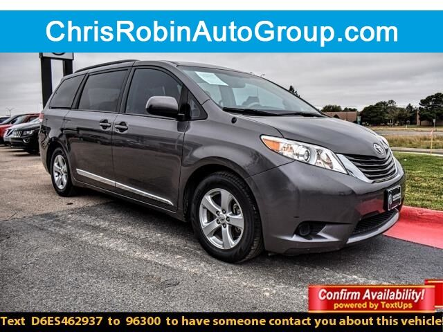 2014 Toyota Sienna 5dr 8-Pass Van V6 LE FWD Odessa TX