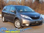 2014 Toyota Sienna LE 1 Owner