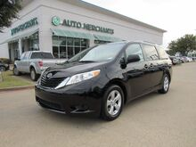 2014_Toyota_Sienna_LE FWD 8-Passenger V6 CLOTH, 3RD ROW, BACKUP CAMERA, POWER DOORS, AUX INPUT, CD PLAYER_ Plano TX