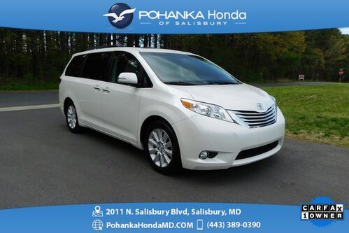 2014_Toyota_Sienna_Limited 7 Passenger ** SUNROOF ** ONE OWNER **_ Salisbury MD