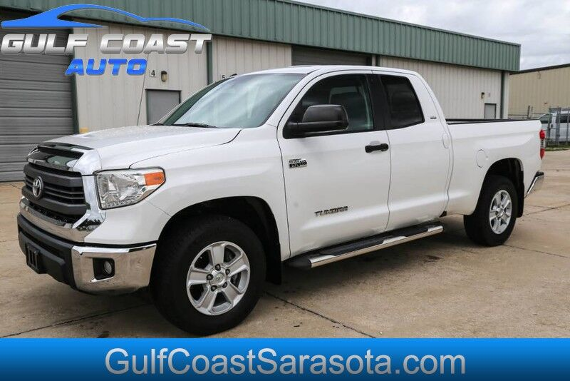 2014 Toyota TUNDRA SR5 DOUBLE CAB LOW MILES 5.7L NEW TIRES CLEAN Sarasota FL
