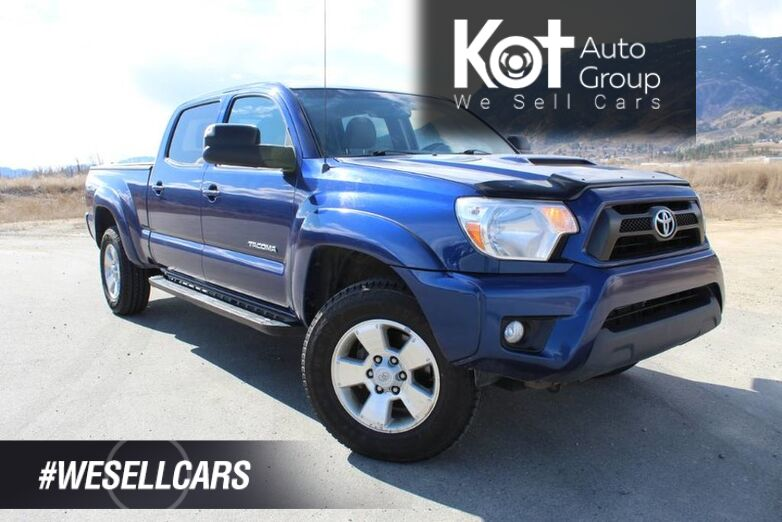 2014 Toyota Tacoma 4WD Double Cab, ONE OWNER Kelowna BC