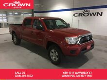 2014_Toyota_Tacoma_Double Cab 4WD SR5 Power Pkg / Local / Immaculate Condition / Lot Accessories_ Winnipeg MB