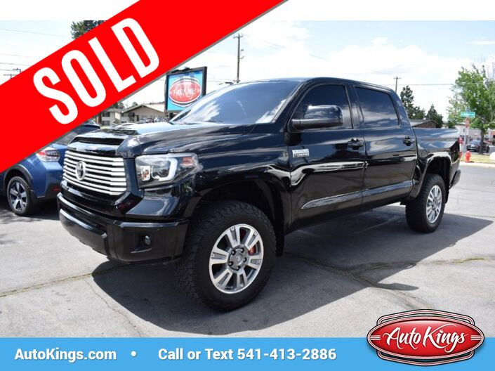 2014 Toyota Tundra 4WD Platinum CrewMax 5.7L Bend OR